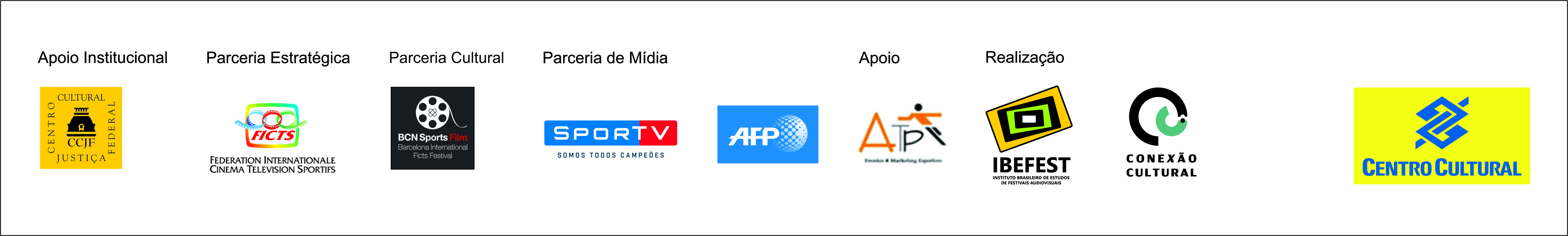 Barra logos - site CINEESPORTE 2018